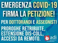 petizione-coronavirus-dottorandi-universita